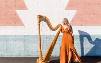 Professional Phoenix Harpist